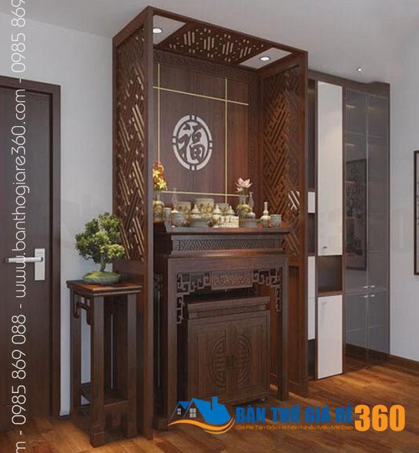 Mẫu bàn thờ đẹp nhất dáng đứng hiện đại tại Quận 7 HCM – Bàn Thờ Giá Rẻ 360