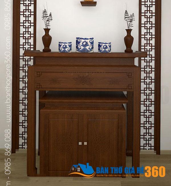 Bàn thờ đứng hiện đại tại các mẫu bàn thờ chung cư đẹp nhất tại Quận 10 HCM
