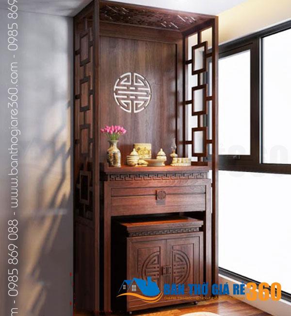 Mẫu bàn thờ đẹp nhất dáng đứng hiện đại tại Quận Tân Bình
