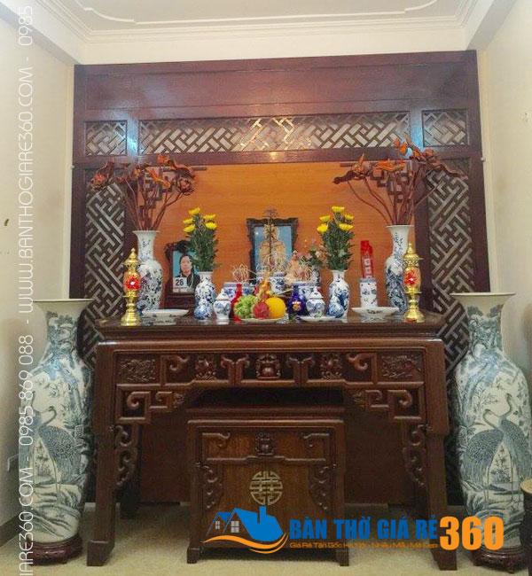Bàn thờ đứng đẹp, hiện đại bán chạy nhất tại Hà Nội và HCM
