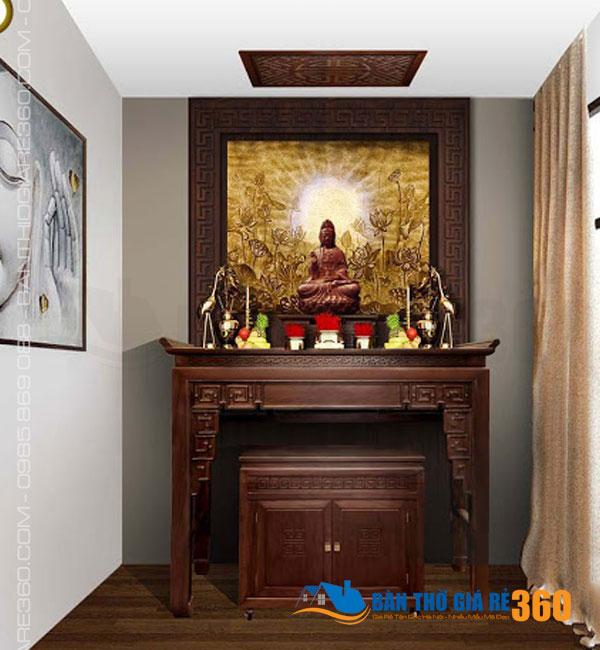 11 mẫu bàn thờ đứng hiện đại đẹp cho chung cư bán chạy nhất