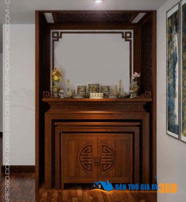 Đặt bàn thờ ở đứng chung cư tại Ngọc Khánh Hà Nội