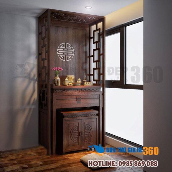 Địa chỉ bán bàn thờ đứng chung cư hiện đại giá rẻ tại Hà Nội