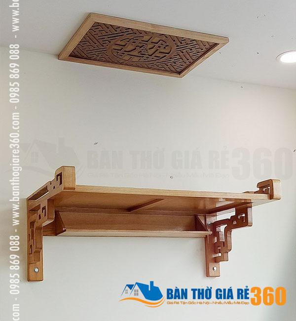 Mẫu trang thờ, bàn thờ treo tường Quận Long Biên đẹp giá rẻ!