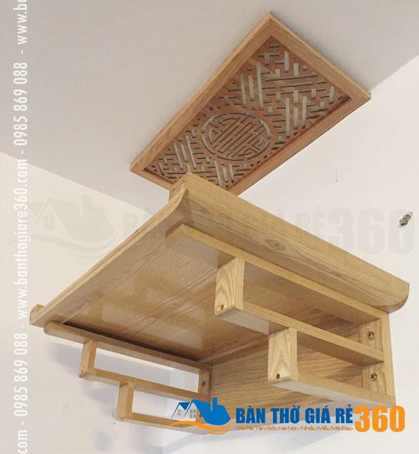 Bàn thờ treo tường chung cư hiện đại đẹp giá rẻ Quận Cầu Giấy Hà Nội