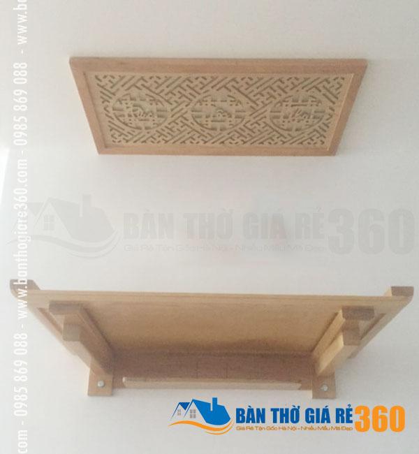 Bàn thờ treo tường Quận Hoàng Mai hiện đại đẹp nhất dành cho chung cư