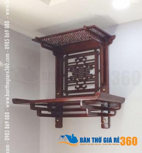 Mẫu bàn thờ treo tường giá rẻ tại Huyện Mê Linh Hà Nội