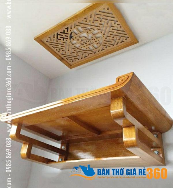 Bàn thờ gỗ treo tường hiện đại, giá rẻ tại Thị xã Sơn Tây Hà Nội