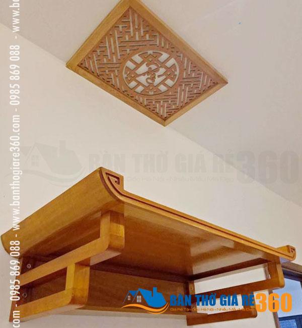 25+ mẫu bàn thờ treo tường Đẹp – Hiện Đại tại Quận Ba Đình